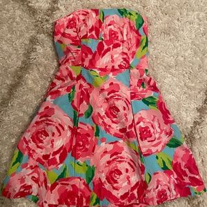 Lilly Pulitzer Rose Print Dress